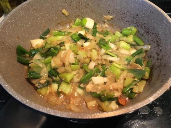 onion & leeks