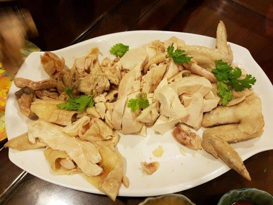 poached chicken 白斩鸡