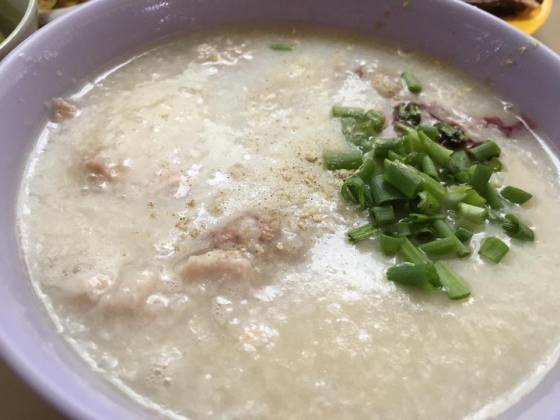 pork mixed porridge