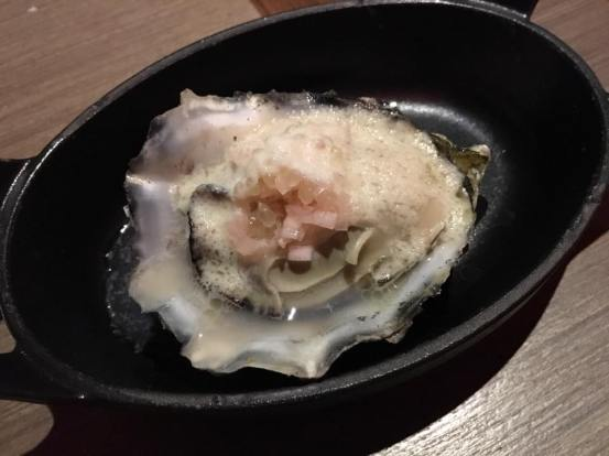 roasted oyster