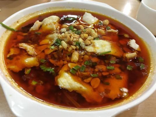 spicy fish 口水鱼