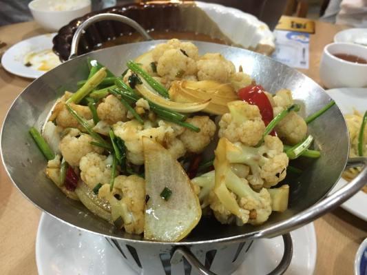 spicy veg 干炒时蔬