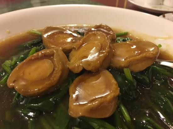 #6 abalone spinach - usual good restaurant standard