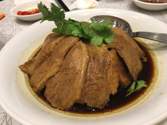 braised duck with tofu S$18