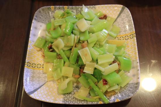 celery with salted fish