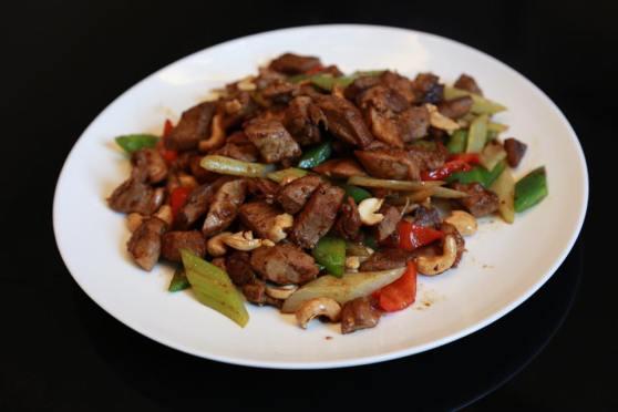fried duck meat 炒鸭件