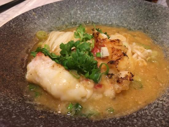 lobster steak noodles 龙虾扒面 S$28