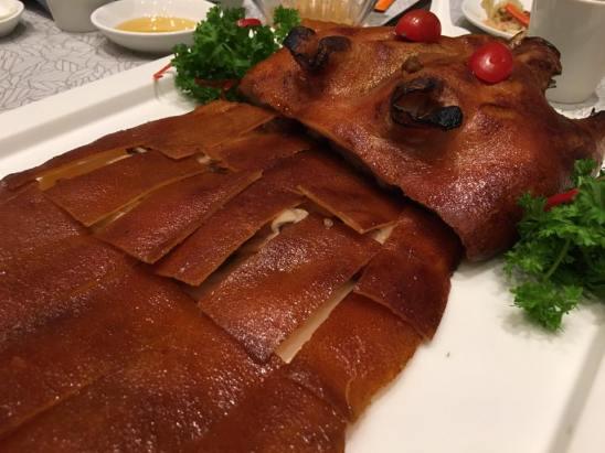 roast suckling pig S$188