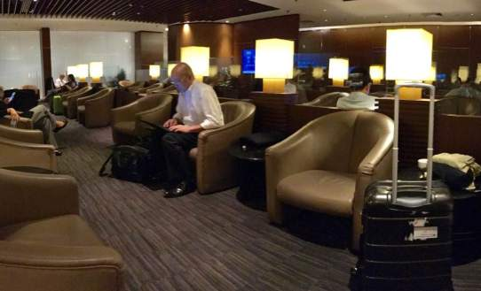 Krisflyer gold lounge