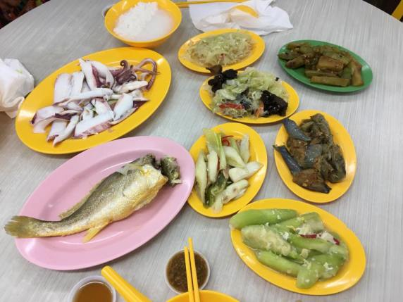 teochew muay dishes
