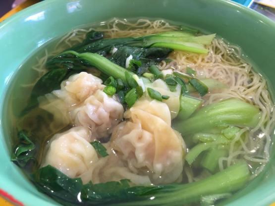 wanton noodles soup