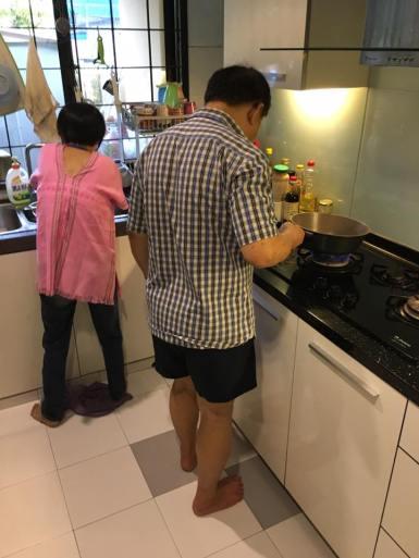 sis & bil cooking
