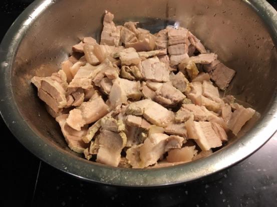 1.5kg belly pork after 5.5hrs in 95degC oven
