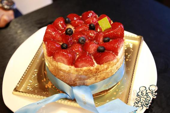 birthday cake from flor patissierie