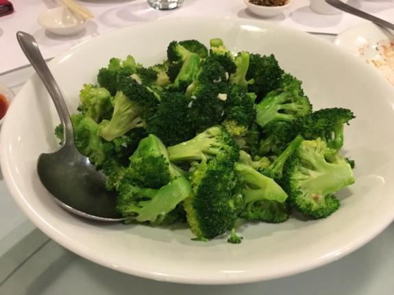 garlic fried brocoli