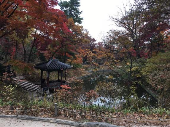 Day 1 - Gwanramjeong Pavilion 관람정 and Bandoji Pond 반도지