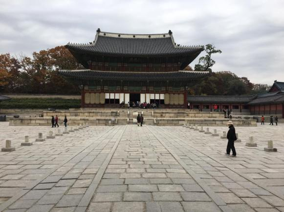 Day 1 - leading to the Injeong-jeon, Changdeokgung 昌德宫