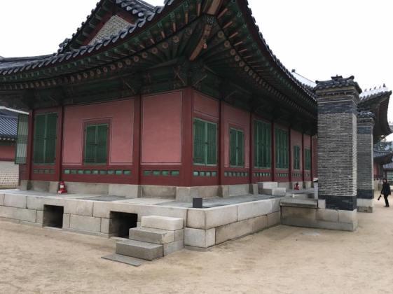Day 1 - donggung, Gueongbokgung 경복궁 景福宫