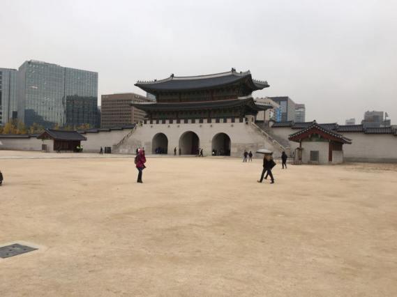 Day 1 - Gwanghwamun 광화문 光化門, Gueongbokgung 경복궁 景福宫