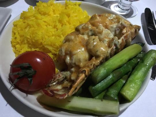 lobster thermidor SQ flight - book the cook