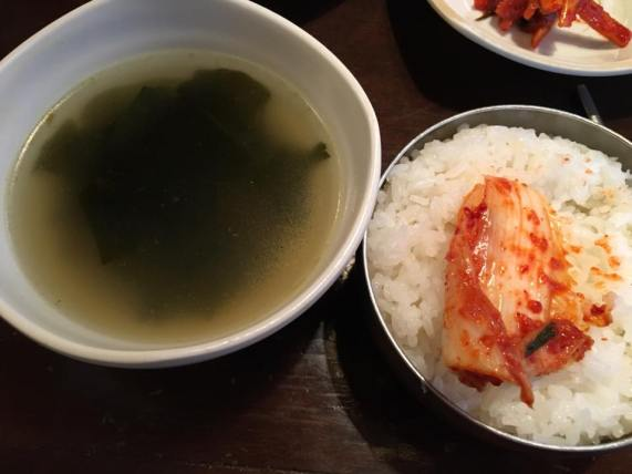 d1-seaweed-soup-rice-Insadong Geu Jib 仁寺洞那家 인사동 그집 @ insadong 仁寺洞