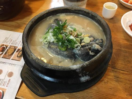 d1-Tosokchon Samgyetang (토속촌 삼계탕) 土俗村 蔘鷄湯