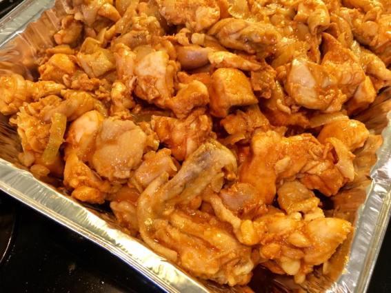dakgalbi 닭갈비 fried chicken with gochujang