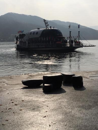 ferry to nami island 남이섬 南怡岛
