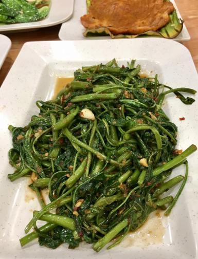 fried kang kong