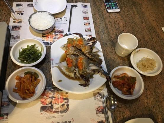 Ganjang Gejang (프로간장게장) raw sauce crab dinner
