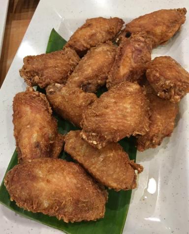 har jeon gai - prawn paste chicken