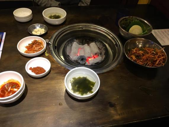 Day 1 - korean bbq at newmaul sikdang 새마을식당