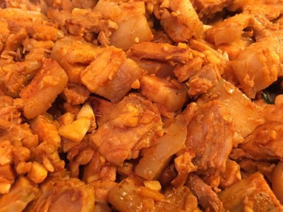 korean grilled belly pork with gochujang