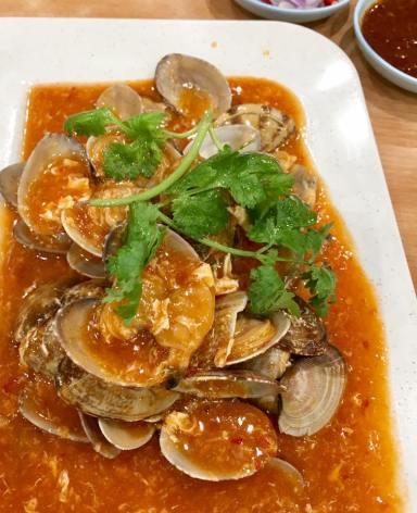 lala - little neck clams