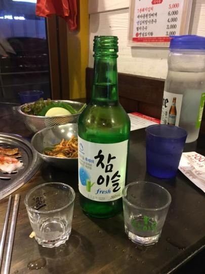 Day 1 - sio chiu 烧酒, newmaul sikdang 새마을식당