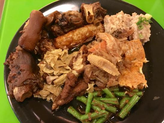 teochew muay buffet items