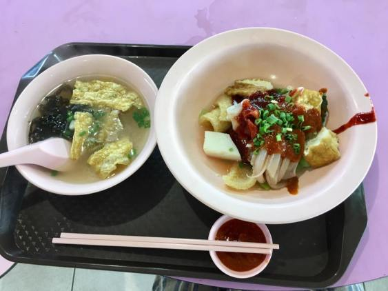yong tau foo - S$4.10 for 7 items