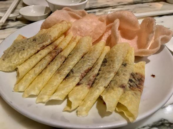 1/2 peking duck S$26 free second eat