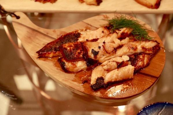 #3 teriyaki salmon belly