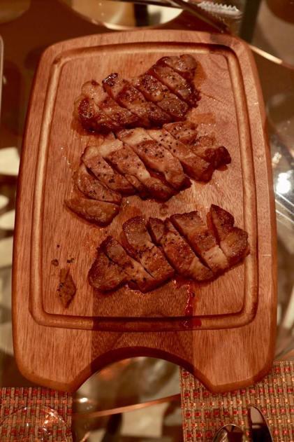 #4 pan-grilled kurobuta