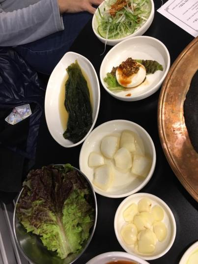 banchan 반찬 side dishes