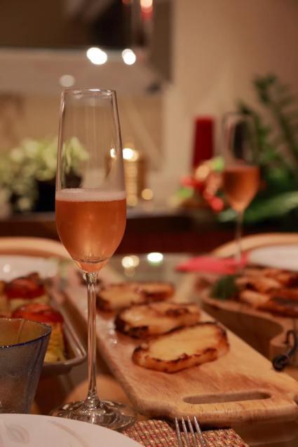 champagne & food