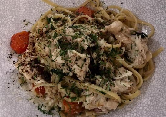 crabmeat linguine