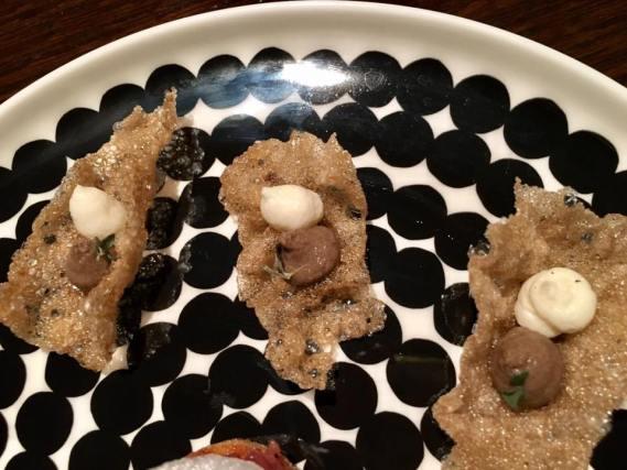 mushroom crackers