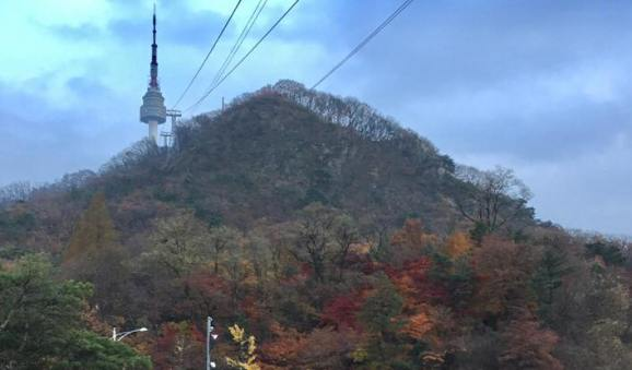 namsan tower & cable car