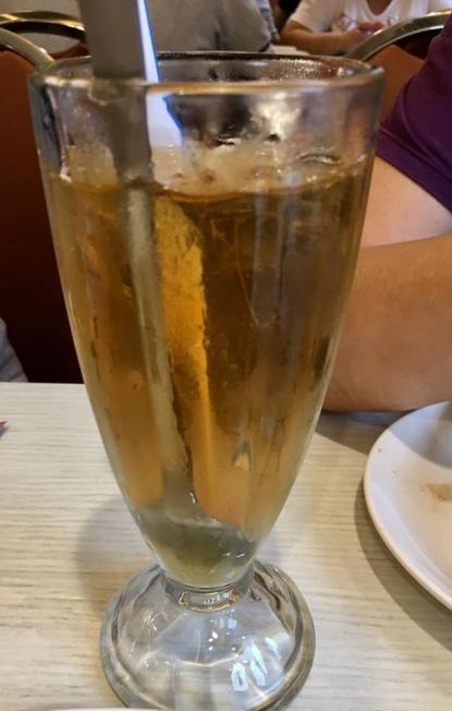pomelo drink - S$5.80 dessert with drink