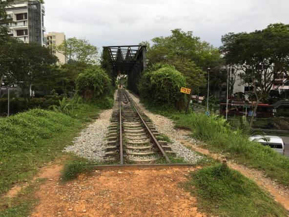 rail crossing over bukit timah & dunneran road