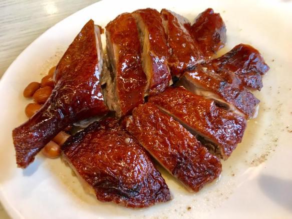 roast duck portion
