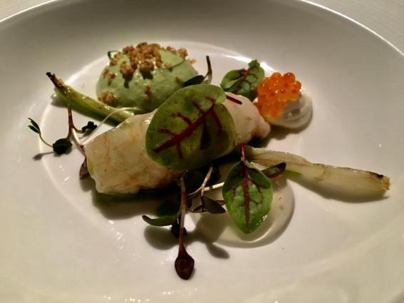 scottish langoustine with cod roe