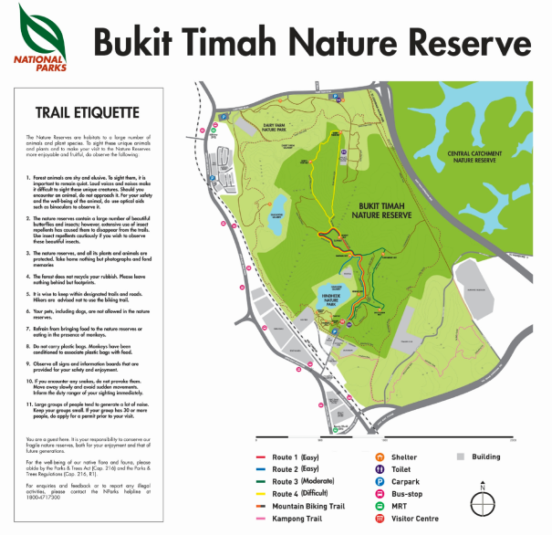 bukit timah nature reserves guide